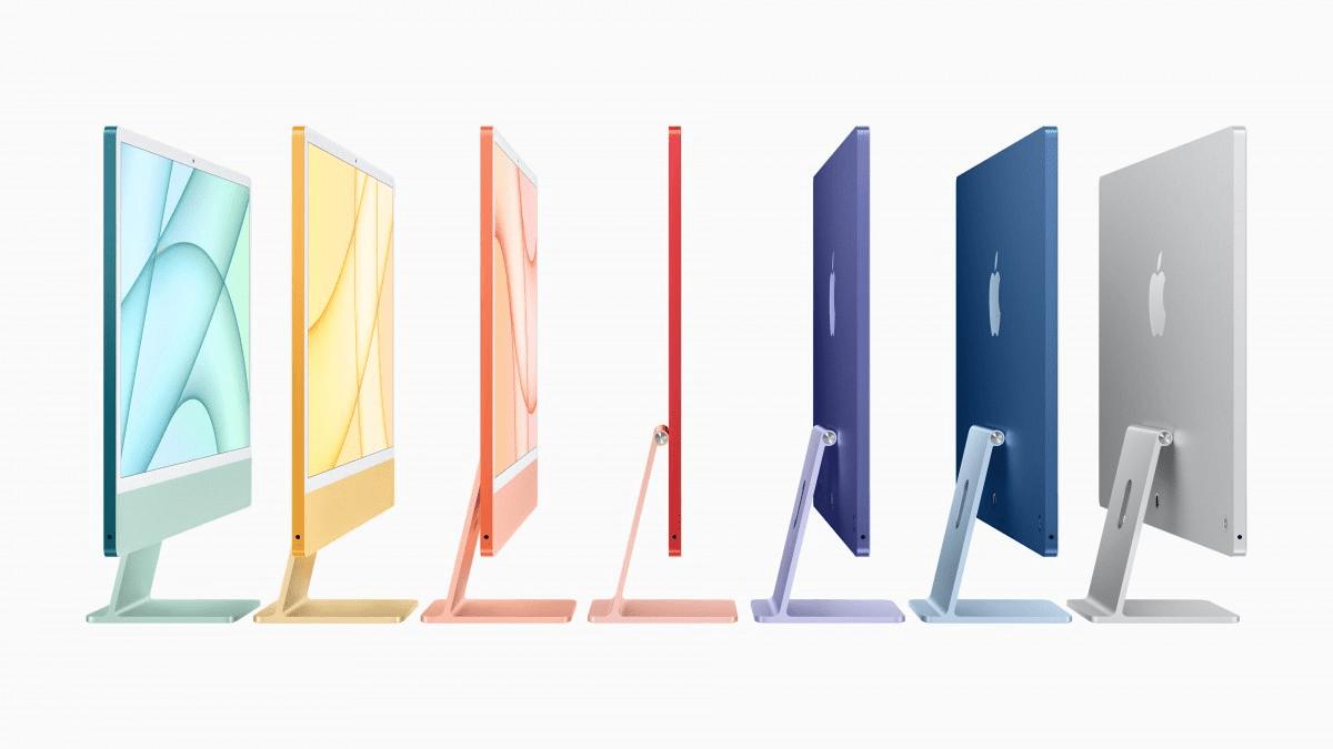 Apple iMac 23.5 M1 seven colors
