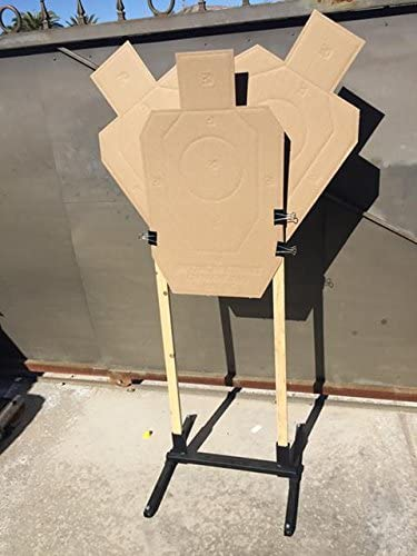How to build a Diy wooden target stand