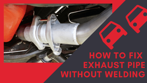 How to fix exhaust pipe without welding