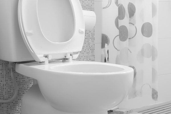 How to drain toilet for removal