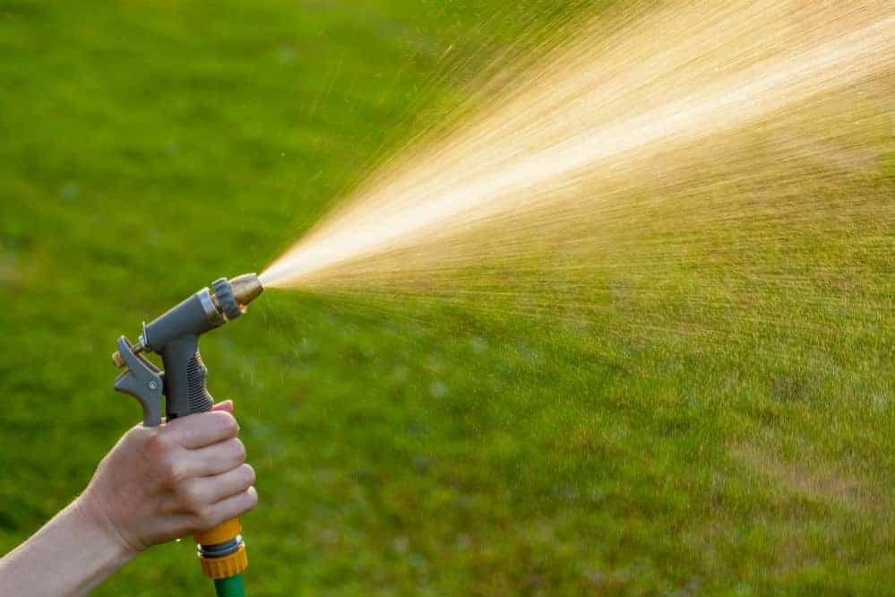 How to increase water pressure in garden hose?