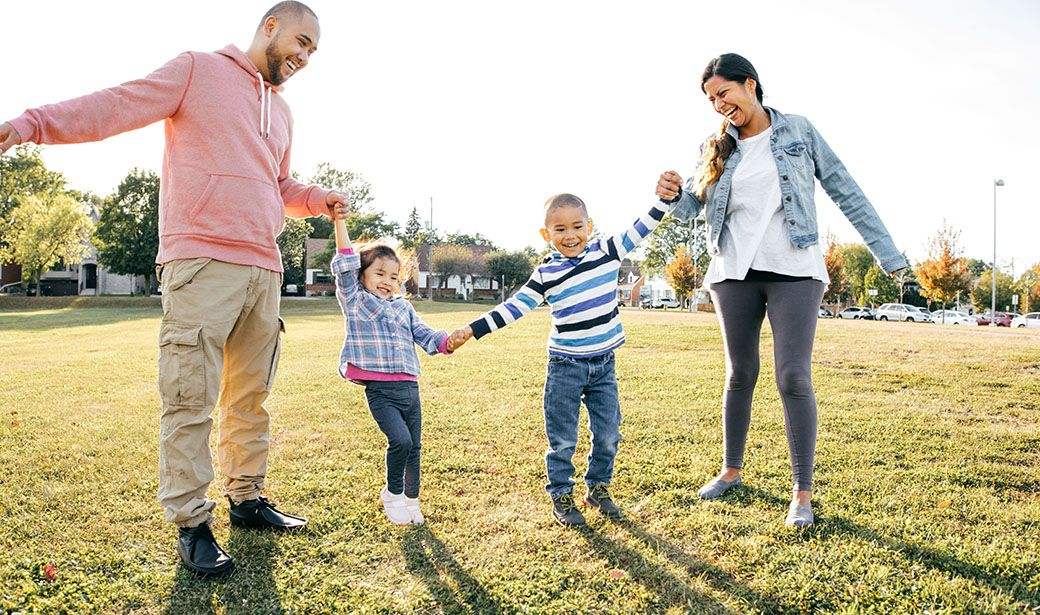 Positive parenting can begin when the child is how old?