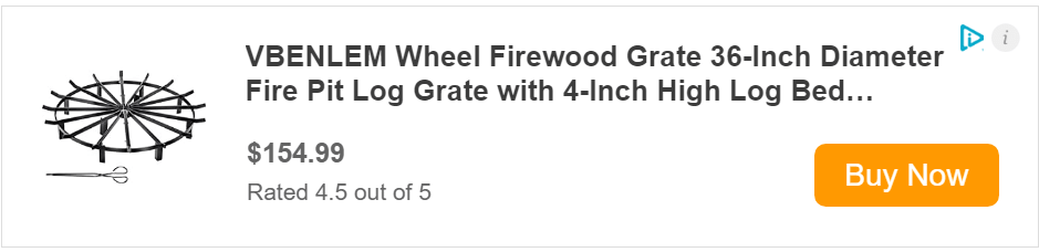 Campfire Fire pit cooking grate