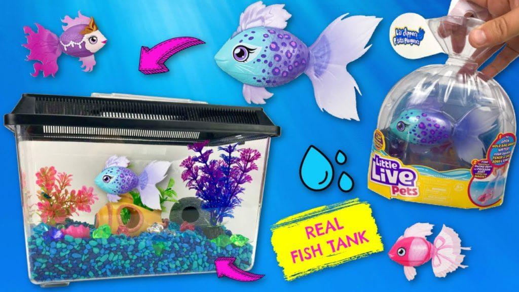 hand aquarium kids toy