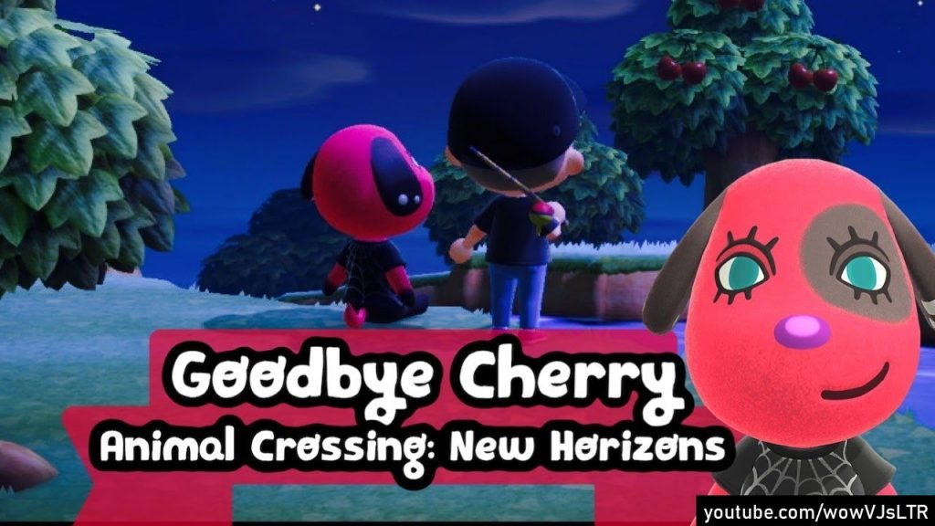 Cherry animal crossing new horizons game