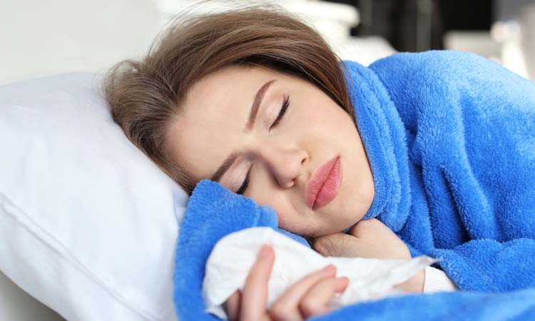 How should you sleep after wisdom teeth removal
