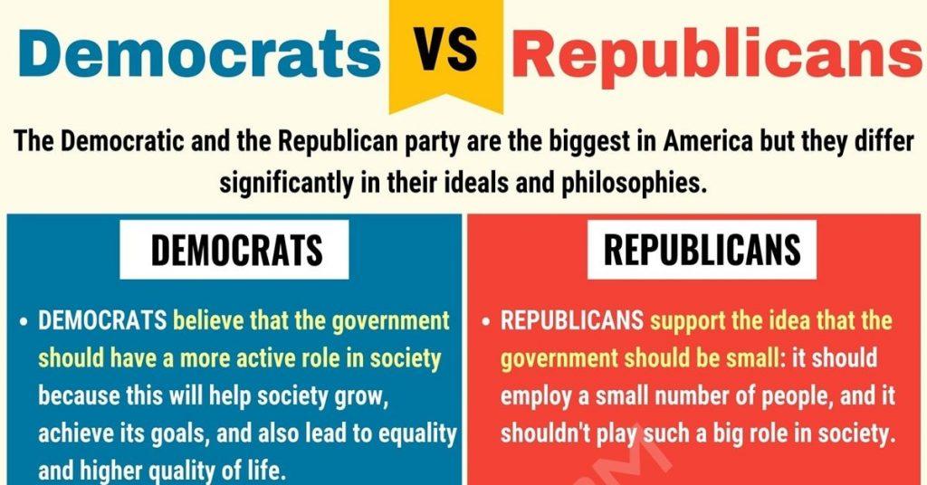 How to explain democrat vs republican to a child