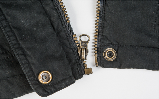 How to fix a zipper that came off track