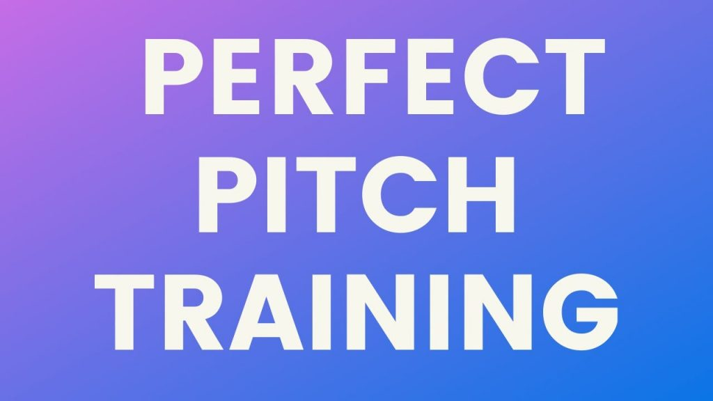 Learning And Training For Perfect Pitch