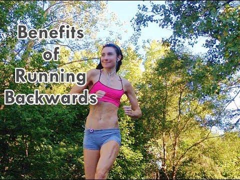Running backwards uphill benefits